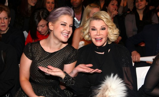 Kelly Osbourne y Joan Rivers