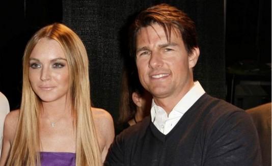 Tom Cruise y Lindsay Lohan