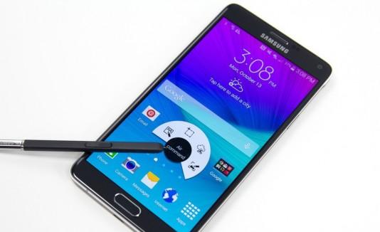 El Galaxy Note 4 cuenta con un lápiz digital rediseñado y nuevas funcionalidades.
