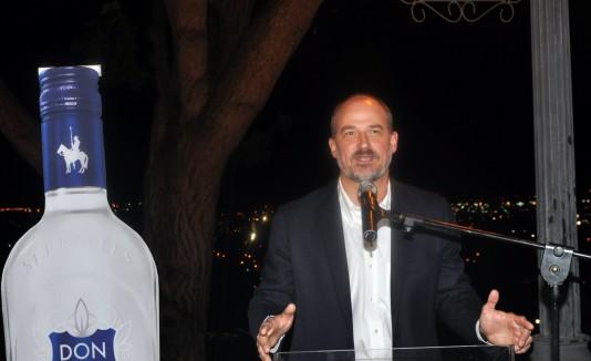 Roberto Serrallés,  vicepresidente de Desarrollo de Negocios de la Destilería Serrallés.