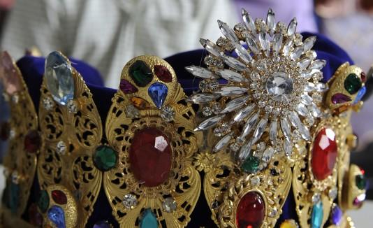 Las coronas se han conservado por los últimos 25 años ya que no cuentan con un orfebre que las reemplace.