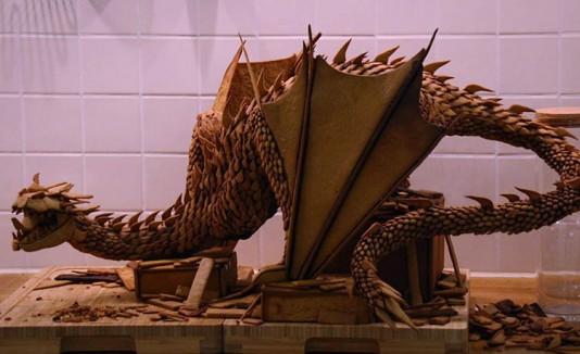 """WOW! Contruye al dragón de """"The Hobbit"""" con pan"""