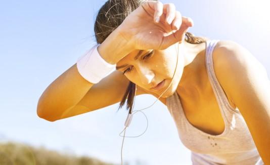 Sudar, transpirar, ejercicios