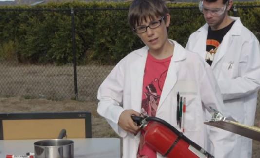 Joven científico