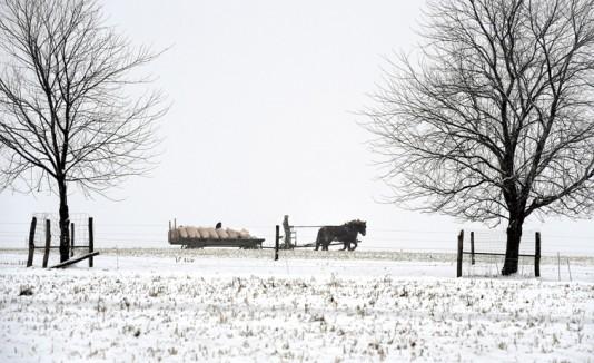 Nieve en Pensilvania