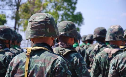 Soldados de un ejército.