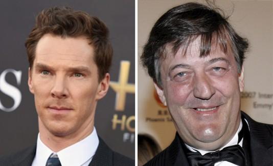 Benedict Cumberbatch y Stephen Fry