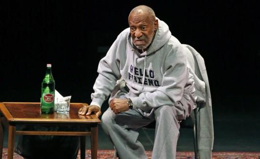 Bill Cosby en un show.