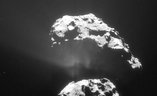 Rosetta , Cometa