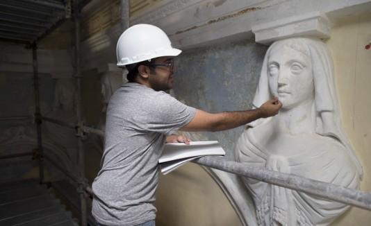Restauración en La Fortaleza