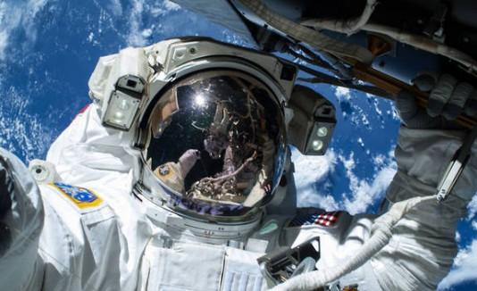 Astronauta selfie
