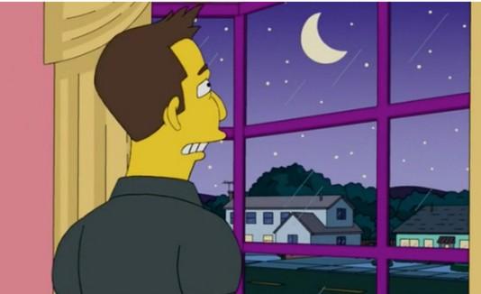 Luna en The Simpsons