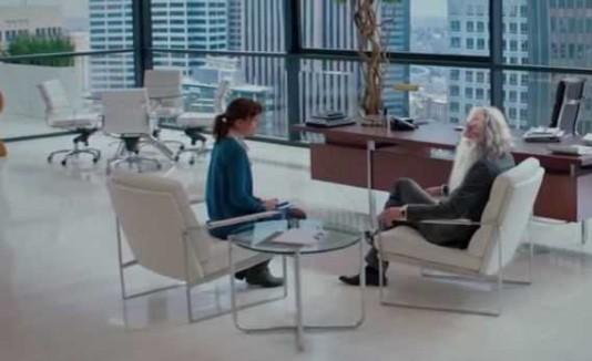El mago Gandalf y Anastasia Steele.
