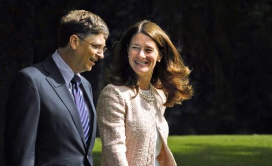 Melinda Gates junto a su esposo, Bill Gates