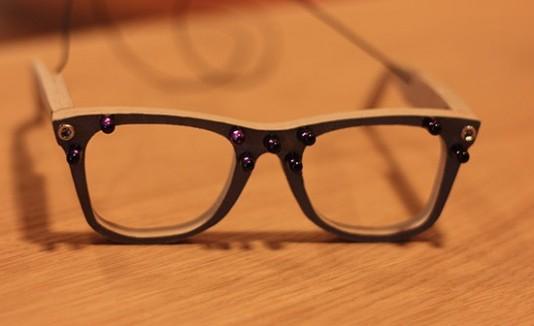 Gafas de la empresa AVG