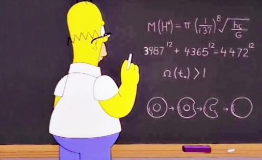 Homero y el bosón de Higgs