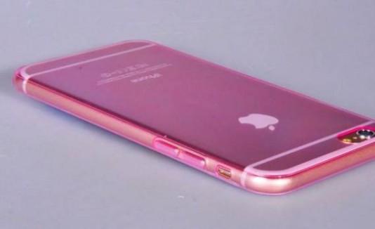 iPhone con cover rosita