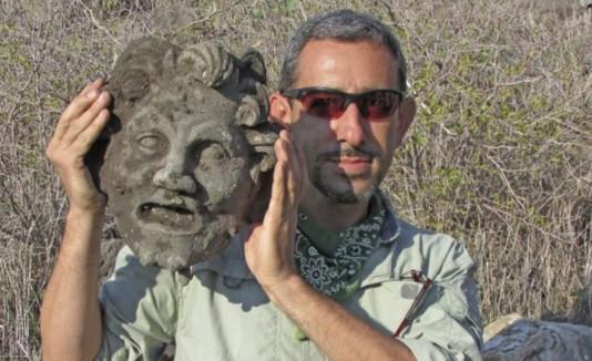 Máscara del dios griego Pan