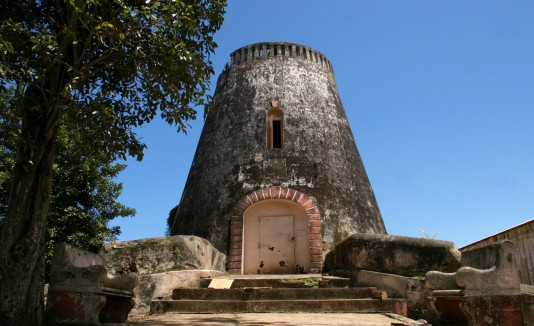 Ruinas de la Central Plazuela