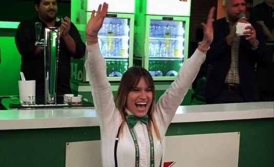 Bartender Alexandra