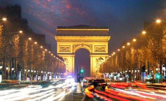 Arc de Triomphe, en París.