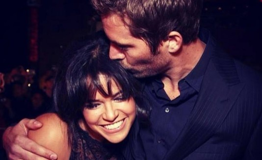 Michelle Rodríguez y Paul Walker