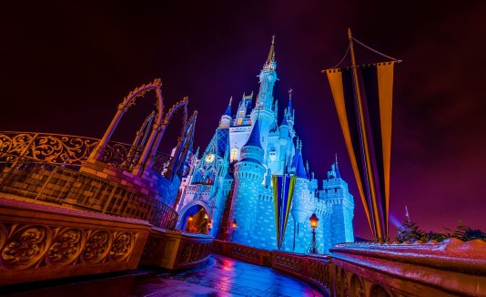 Castillo de Cinderella en Magic Kingdom