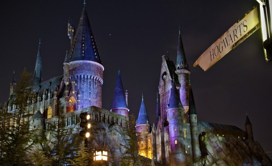 The Wizarding World of Harry Potter en Universal Studios.