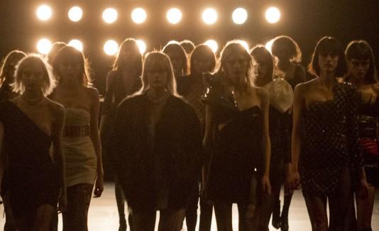 Modelos en Paris Fashion Week
