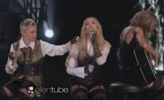 Ellen DeGeneres, Madonna y Taylor Swift.