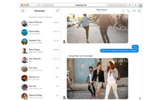 Facebook Messenger para Web