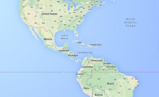 America del Norte y Sur