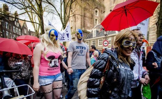 Prostitutas de Amsterdam