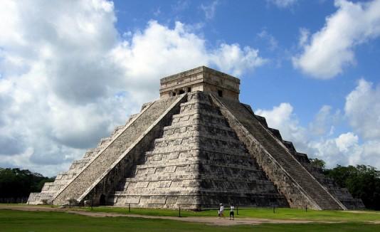 Pirámide Chichen Itzá, Yucatán