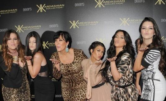 El clan Kardashian