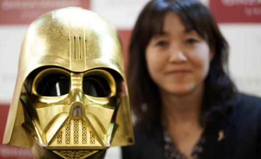 Darth Vader en oro