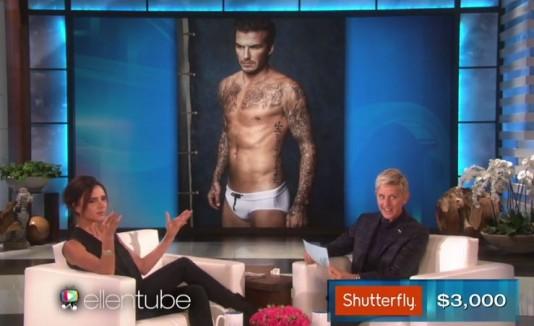 Victoria Beckham en The Ellen Show