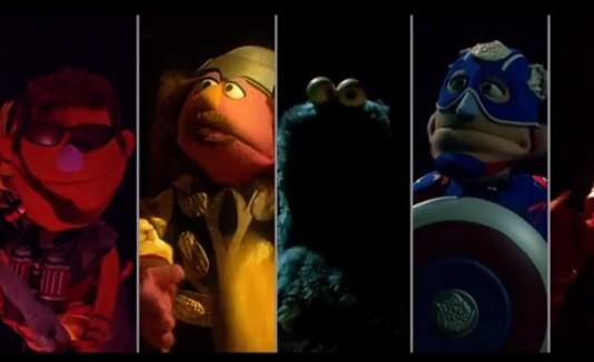 Sesame Street parodia Avengers