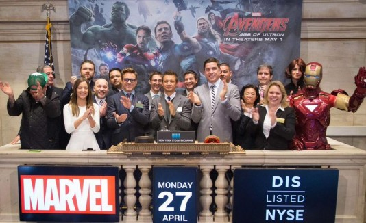 Avengers en Wall Street