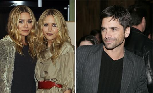 Ashley Olsen, Mary-Kate Olsen y John Stamos