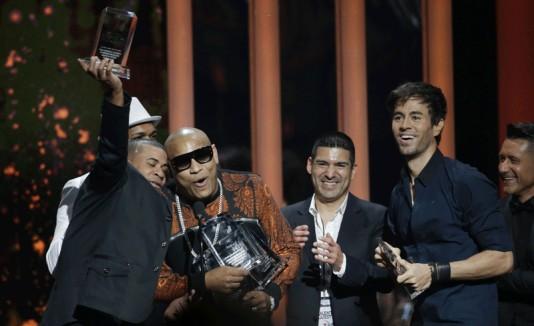 Enrique Iglesias, gran ganador de los Billboards