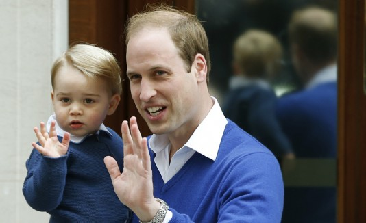 Príncipe William y su hijo, príncipe George
