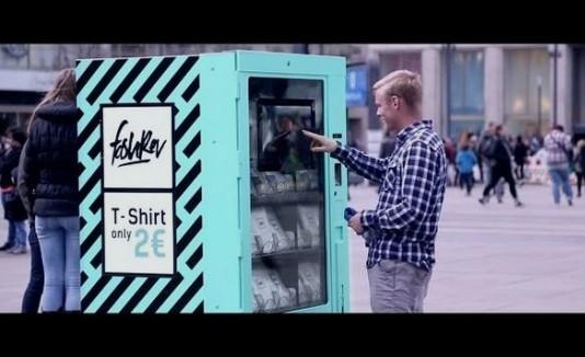 Experimento social con la ropa