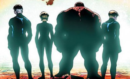 "Último cómic de ""Fantastic Four"