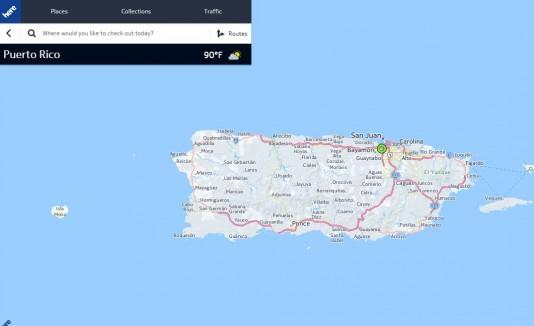 Here.com, location