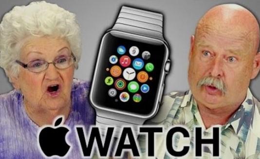 Ancianos reacciona al Apple Watch