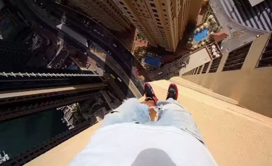 Parkour en rascacielos de Dubai