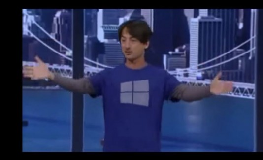 Camisa Microsoft