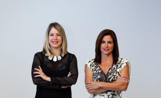Maribel González y Joy Lynn Suárez Kindy