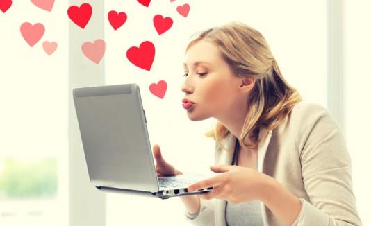 Amor a distancia mediante computadora